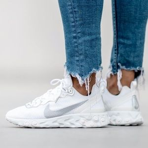 NEW 🤩 NIKE WOMEN REACT ELEMENT 55 IRIDESCENT
